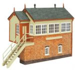 Oxford Structures OS76R002 GWR Signal Box (Pre-Built)